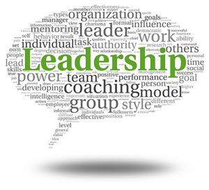 Leadership imeans coaching , modeling, building a team, and sharing your vision