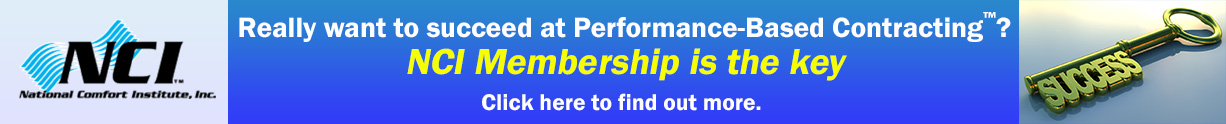 NCI Membership - the Key to Performance-Based Contracting